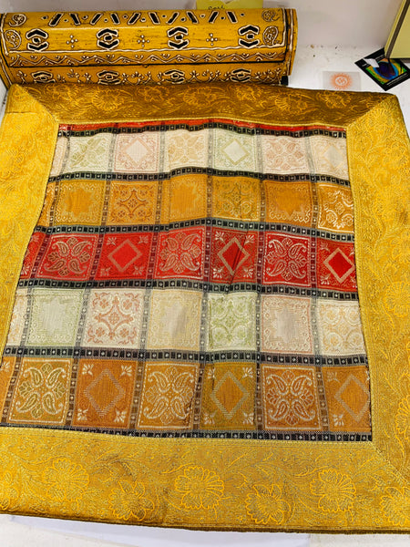 Bohemian style handcrafted ethnic Square cushion cover #795