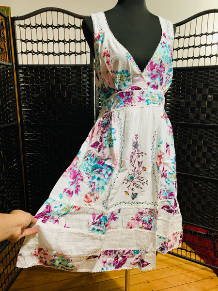 Bohemian style handcrafted Fine cotton dresses