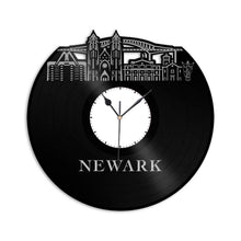 Newark NJ Vinyl Wall Clock