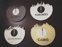 Vicenza Skyline Vinyl Wall Clock - VinylShop.US