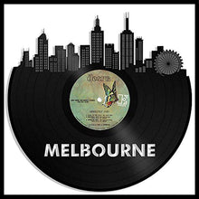 Melbourne Skyline Vinyl Wall Art