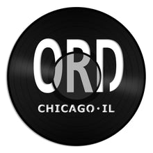 Chicago O'hare Airport ORD Vinyl Wall Art - VinylShop.US