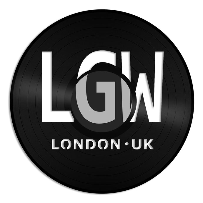 London Airport LGW Vinyl Wall Art - VinylShop.US