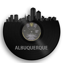 Albuquerque Skyline Vinyl Wall Art - VinylShop.US