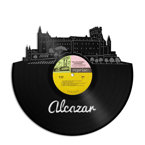Alcazar Castle Skyline Vinyl Wall Art - VinylShop.US