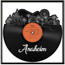 Anaheim California Skyline Vinyl Wall Art - VinylShop.US