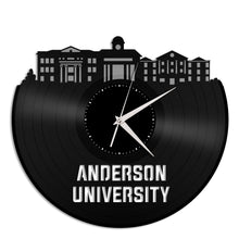 Anderson University Vinyl Wall Clock - VinylShop.US