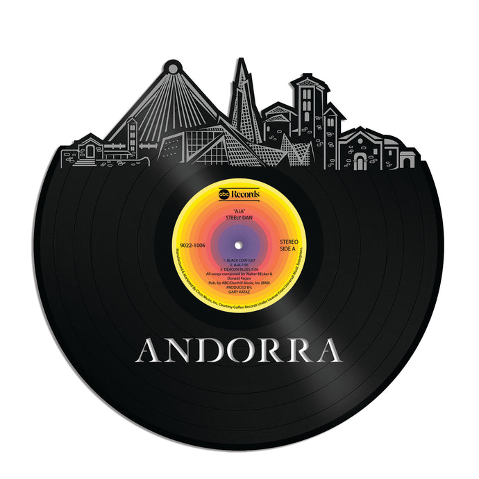 Andorra Vinyl Wall Art