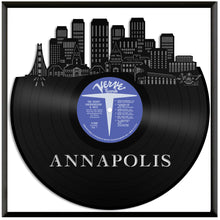 Annapolis MD Skyline Vinyl Wall Art - VinylShop.US