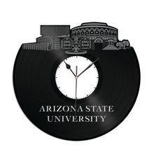 Arizona State University Vinyl Wall Clock