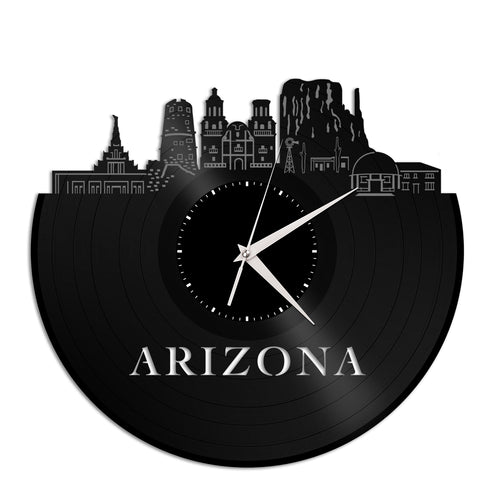 Arizona Skyline Vinyl Wall Clock - VinylShop.US