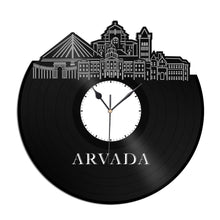 Arvada Co Vinyl Wall Clock