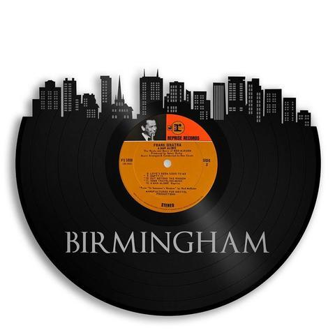 Birmingham Skyline Wall Art - VinylShop.US