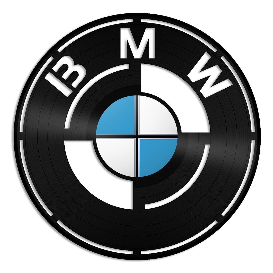 BMW Vinyl Wall Art - VinylShop.US
