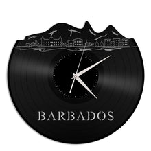 Barbados Skyline Vinyl Wall Clock - VinylShop.US