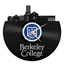 Berkeley College Vinyl Wall Clock - VinylShop.US