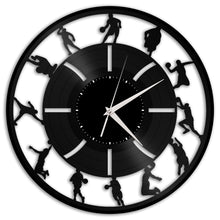 Basketball Vinyl Wall Clock