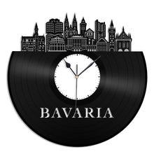 Bavaria Skyline Vinyl Wall Clock - VinylShop.US