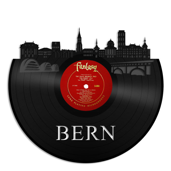 Bern Skyline Vinyl Wall Art - VinylShop.US