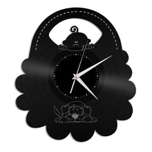 Bib Vinyl Wall Clock