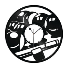 Billiards Vinyl Wall Clock New Designs