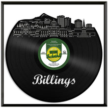 Billings MT Vinyl Wall Art