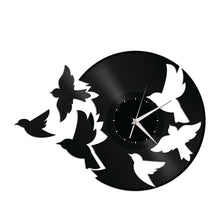 Birds Fly Vinyl Wall Clock