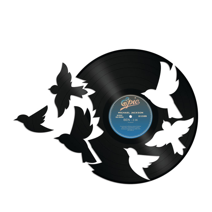 Birds Fly Vinyl Wall Art