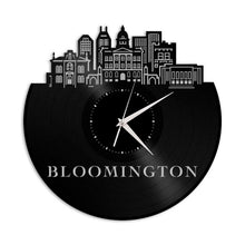 Bloomington IN Vinyl Wall Clock