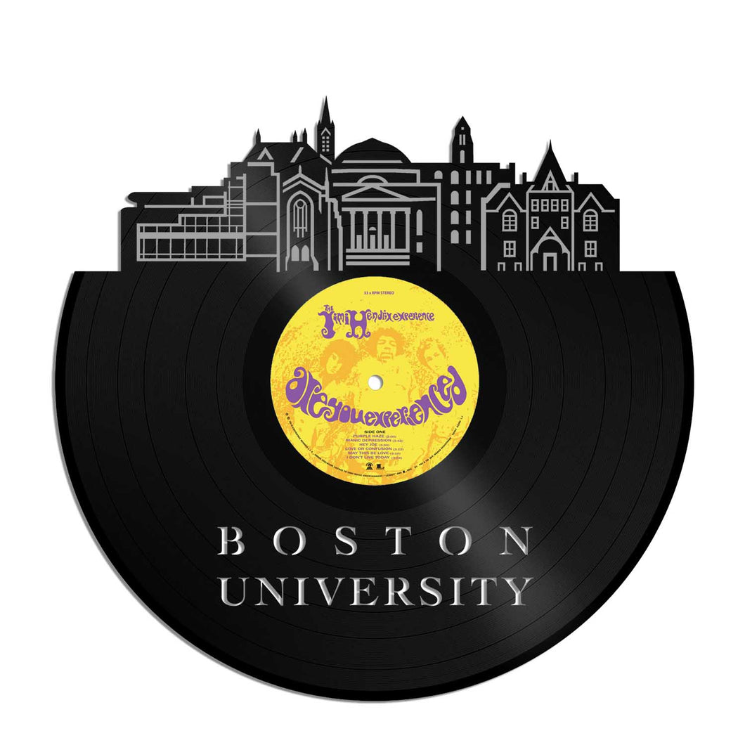 Boston University Vinyl Wall Art