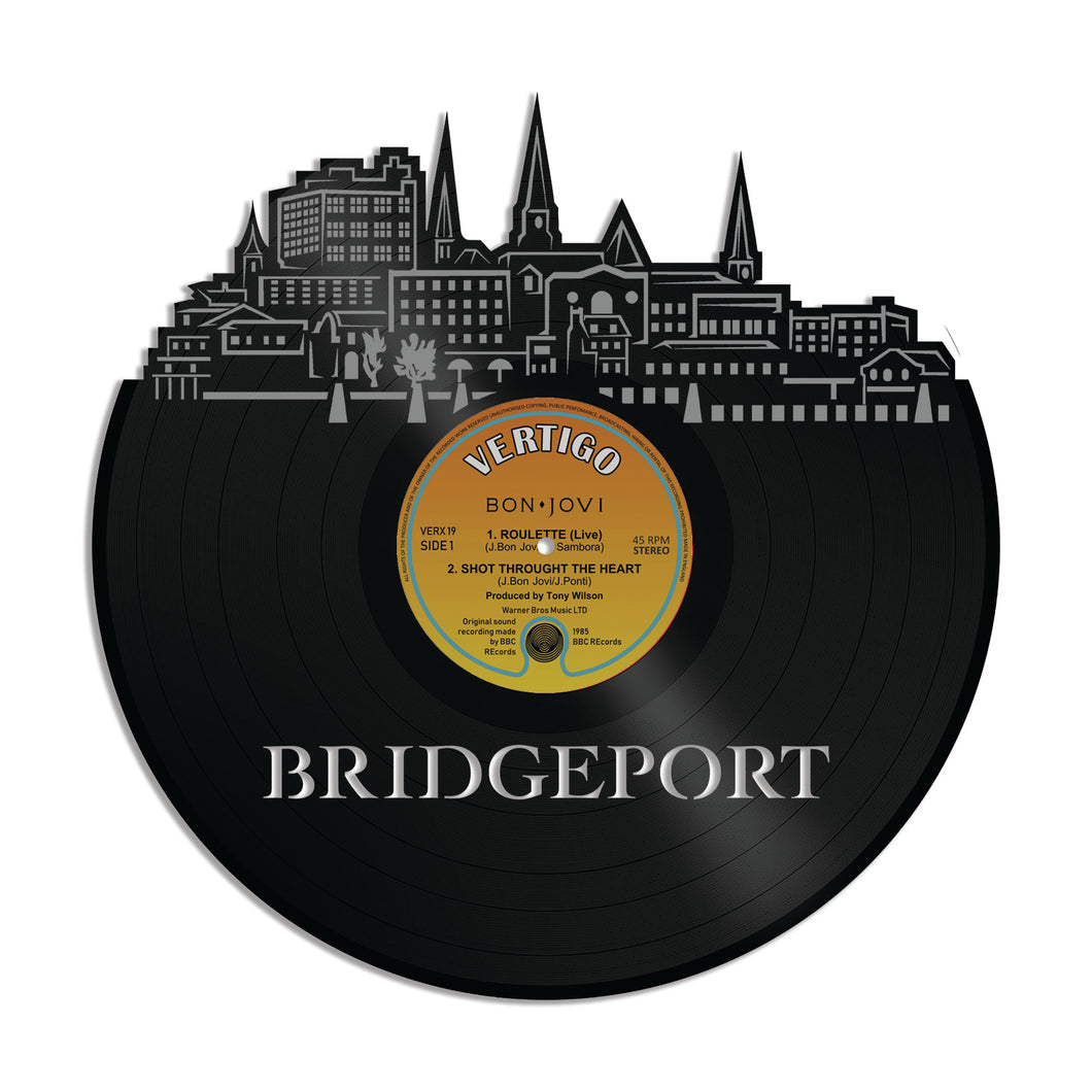 Bridgeport CT Vinyl Wall Art