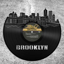 Brooklyn Skyline Vinyl Wall Art - VinylShop.US