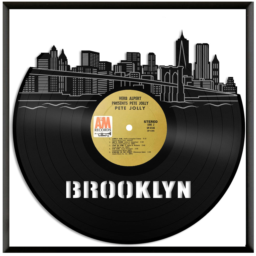 Brooklyn Skyline Vinyl Wall Art – VinylShop.US