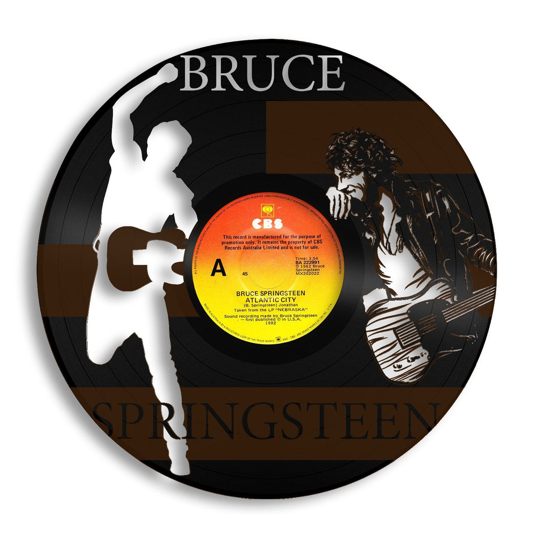 Bruce Springsteen Vinyl Wall Art - VinylShop.US