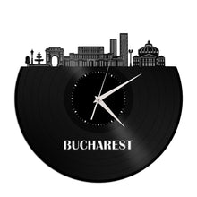 Bucharest Vinyl Wall Clock - VinylShop.US