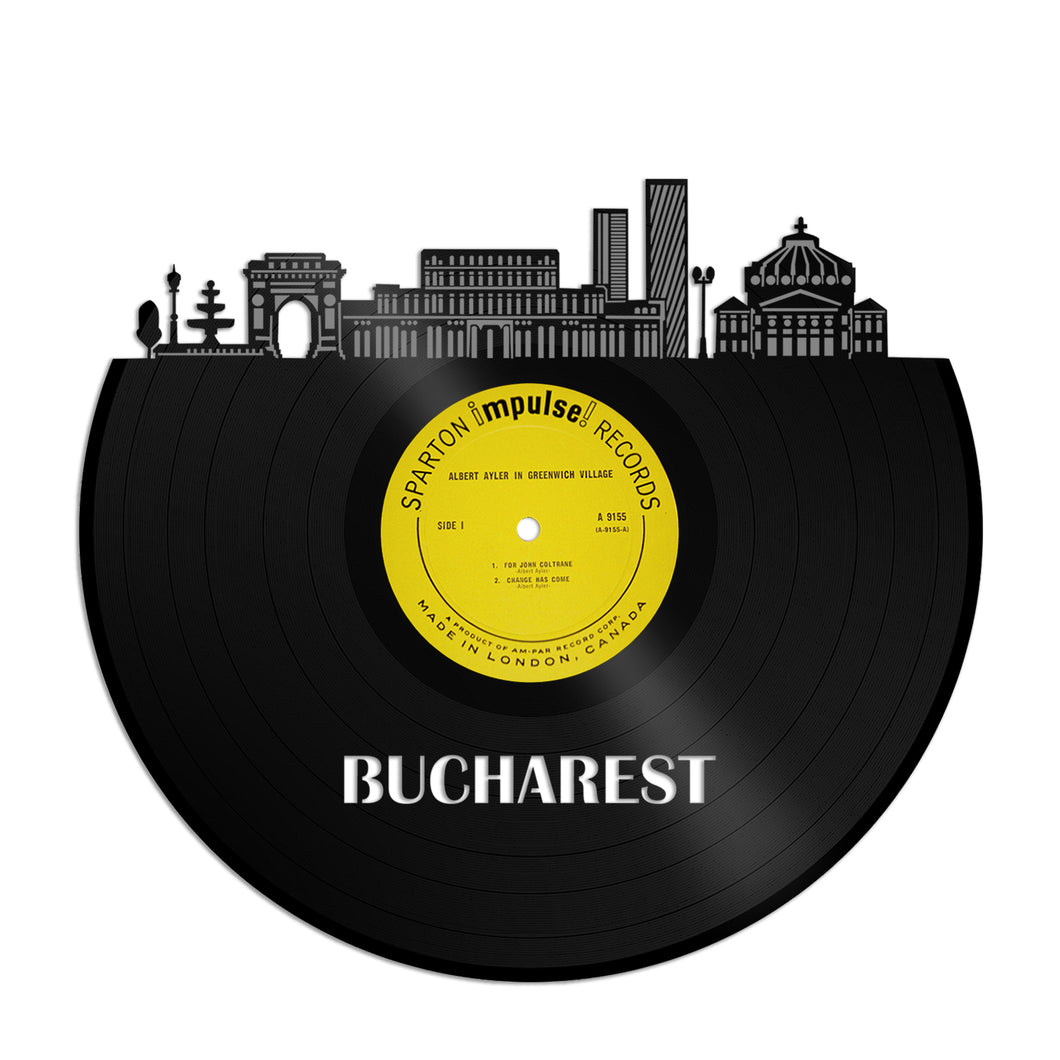 Bucharest Vinyl Wall Art - VinylShop.US