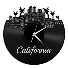 California Vinyl Wall Clock - VinylShop.US