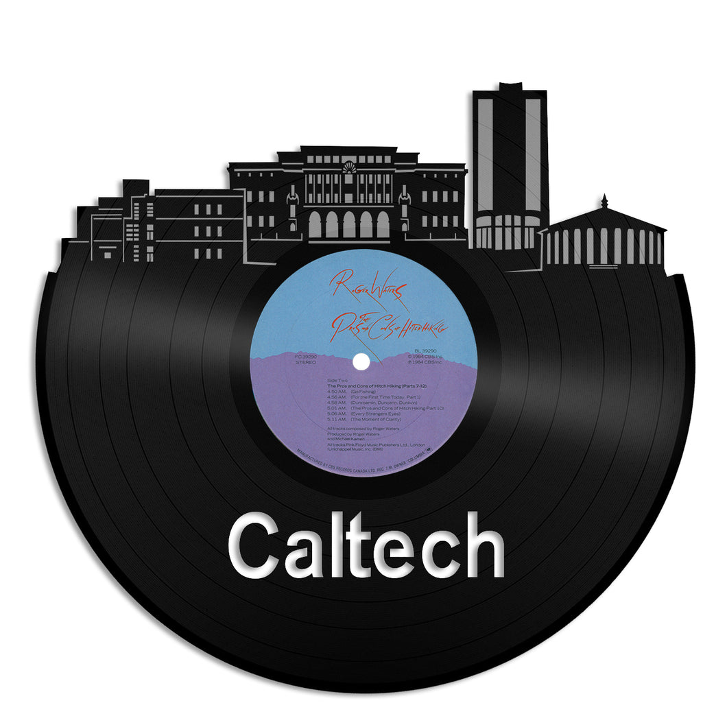 Caltech Institute Vinyl Wall Art - VinylShop.US