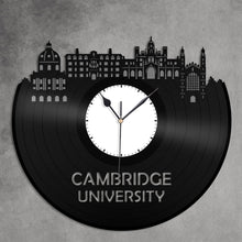 Cambridge University Vinyl Wall Clock - VinylShop.US