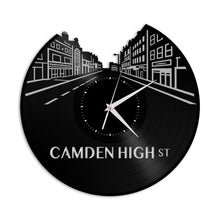 Camden High Street Vinyl Wall Clock