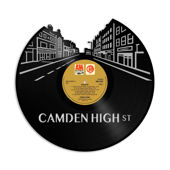 Camden High Street Vinyl Wall Art