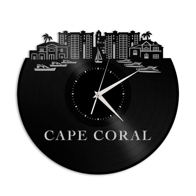 Cape Coral FL Vinyl Wall Clock