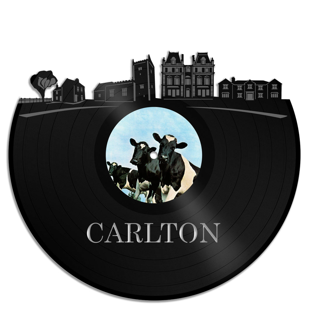 Carlton Skyline Vinyl Wall Art - VinylShop.US