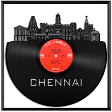 Chennai India Skyline Vinyl Wall Art - VinylShop.US
