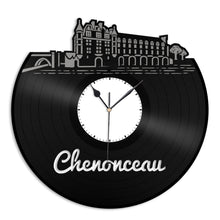 Chenonceau Vinyl Wall Clock