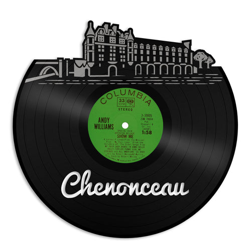 Chenonceau Skyline Vinyl Wall Art