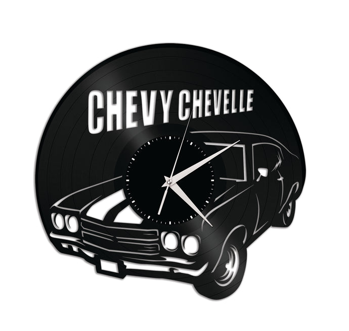 Chevy Chevelle Car Vinyl Wall Clock
