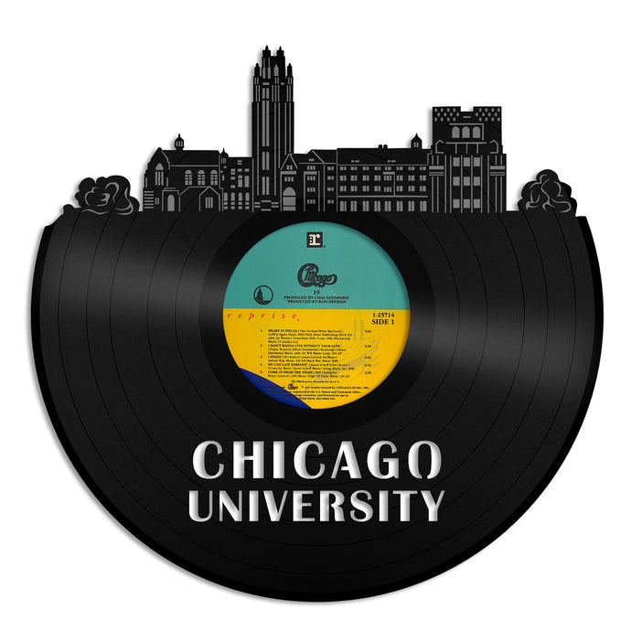 Chicago University Vinyl Wall Art - VinylShop.US