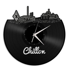 Chillon Vinyl Wall Clock