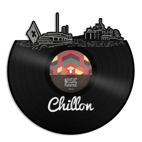 Chillon Skyline Vinyl Wall Art